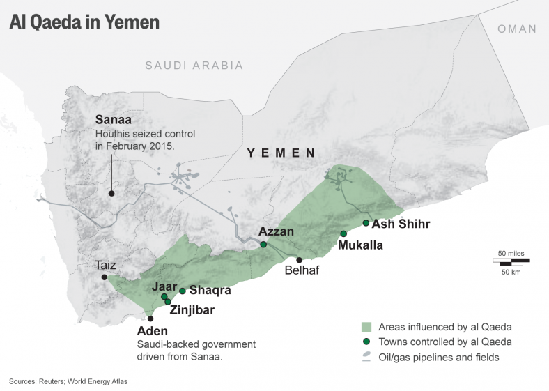 Осиное гнездо: «Аль-Каида» и ИГ в Йемене