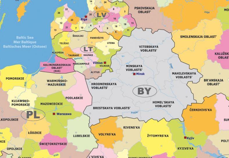 Беларусь литва спорные территории