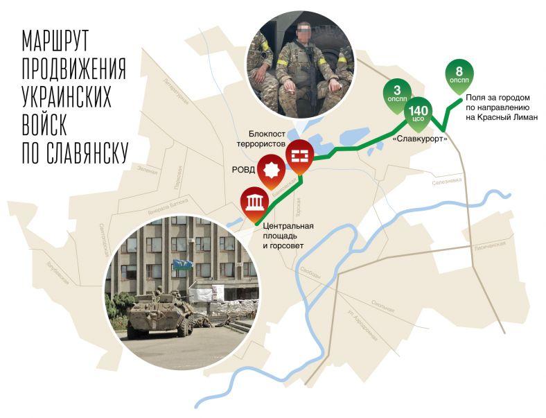 Спецназ в Славянске: как Украина вернулась в город