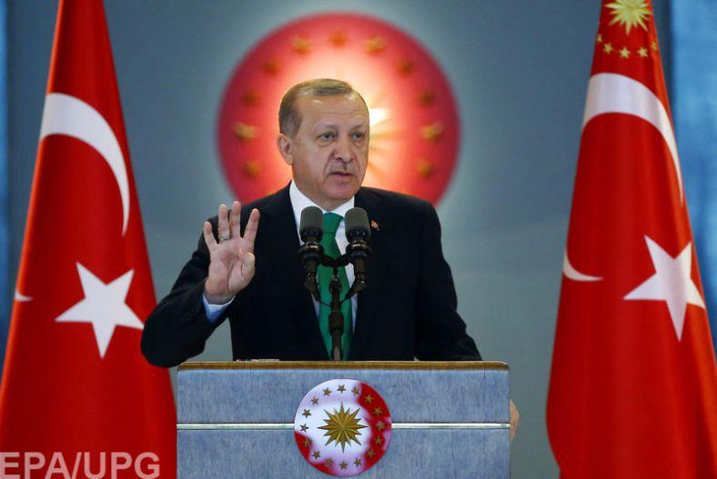Эрдоган опутинел