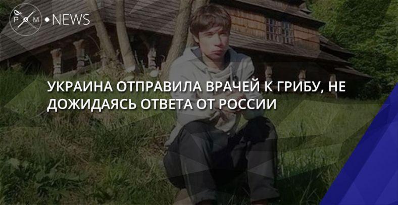 Украина отправила врачей к Грибу не дожидаясь ответа от России