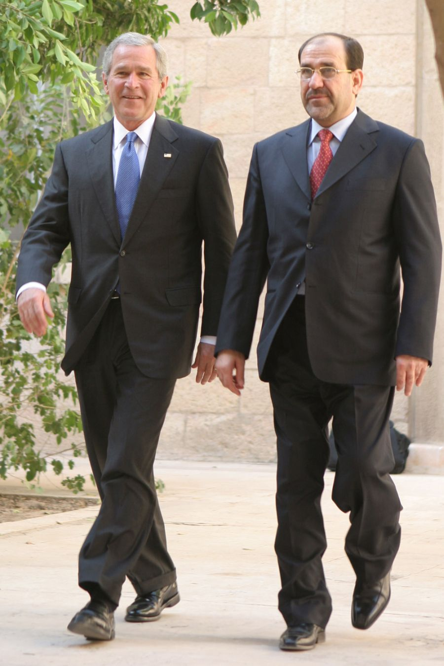 Bush_and_al-Maliki