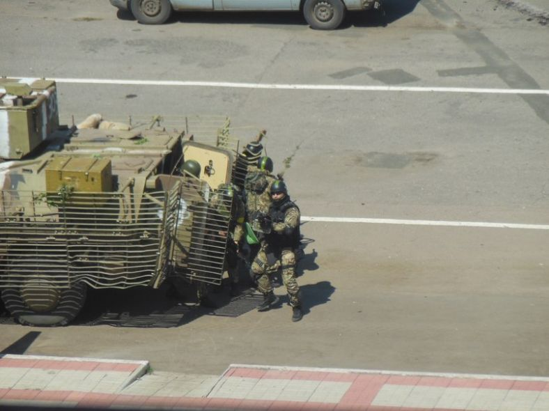 Освобождение Торецка: украинский дом Павлова