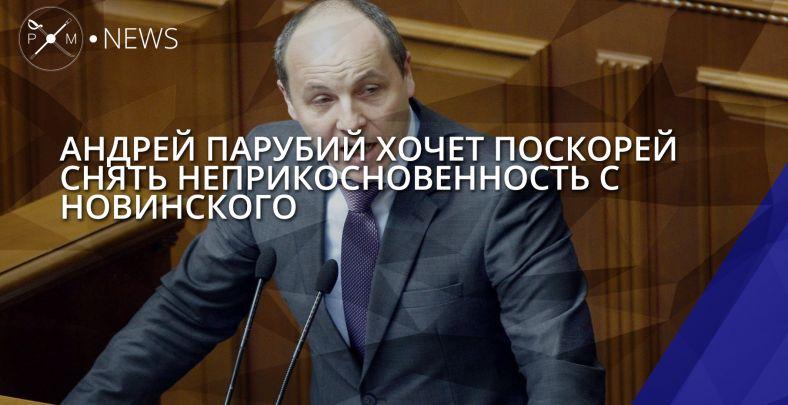 Регламентный комитет выступил против снятия неприкосновенности сНовинского