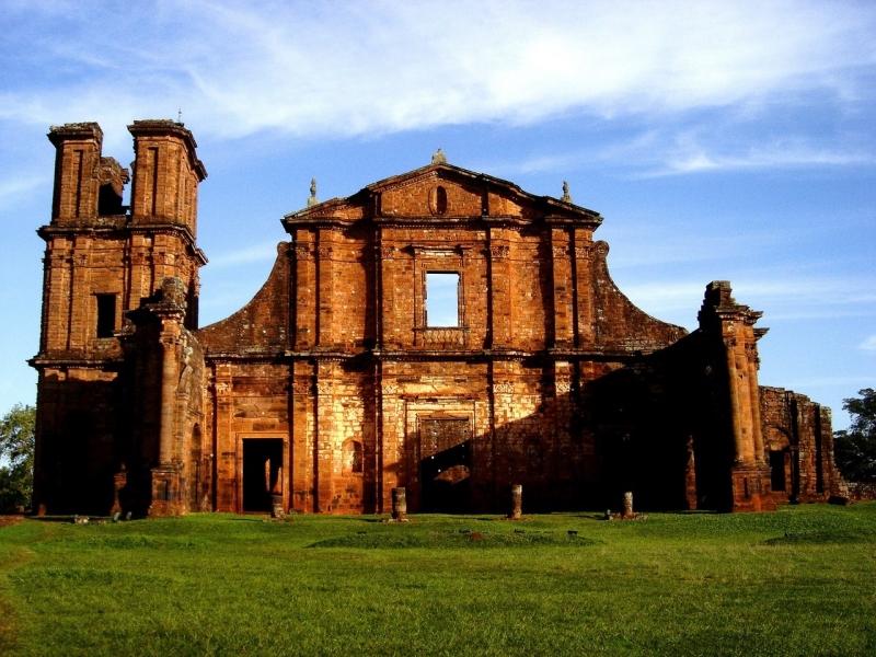 Руины редукции Сан-Мигель внесены в список ЮНЕСКО