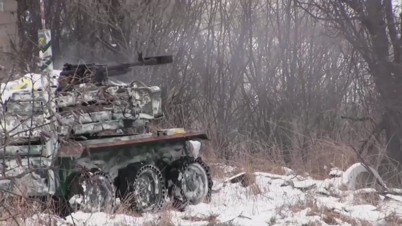 Украинские боевые роботы в боях на Донбассе, фото-1