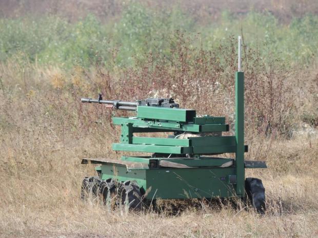 Украинские боевые роботы в боях на Донбассе, фото-7
