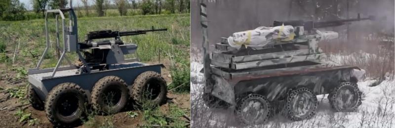 Украинские боевые роботы в боях на Донбассе, фото-8