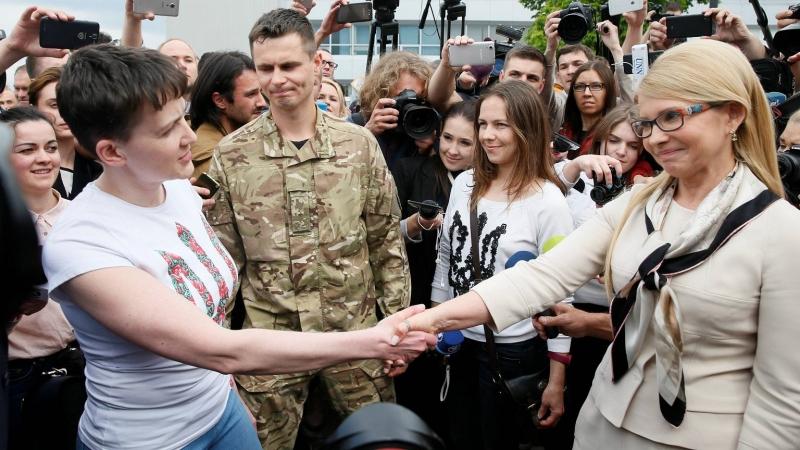 """Савченко о предполагаемом обмене Рубана: """"Это может разблокировать процесс! И это хорошо!"""" - Цензор.НЕТ 477"""