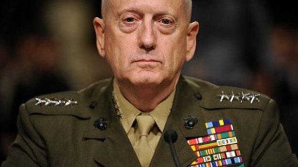 """Генерал Джеймс """"бешеный пес"""" Маттис. Сравните лицо Маттиса с лицом Тенюха. Кто здесь старый волкодав, а кто просто фуражку носит?"""